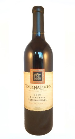 2016 Texas Star Tempranillo